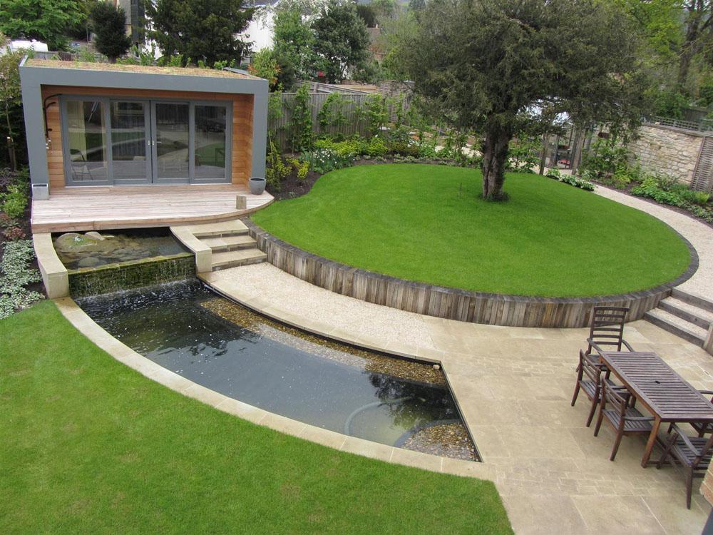 jardin éclectique, exemple 1
