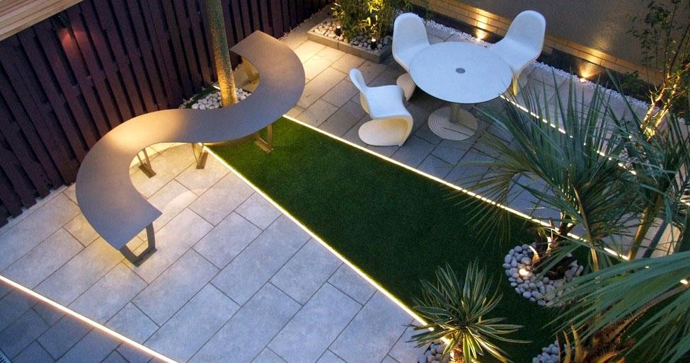 jardin éclectique, exemple 2