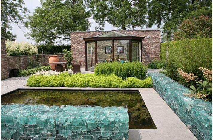 jardin éclectique, exemple 3