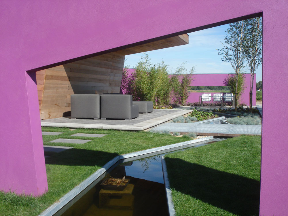 jardin éclectique, exemple 4