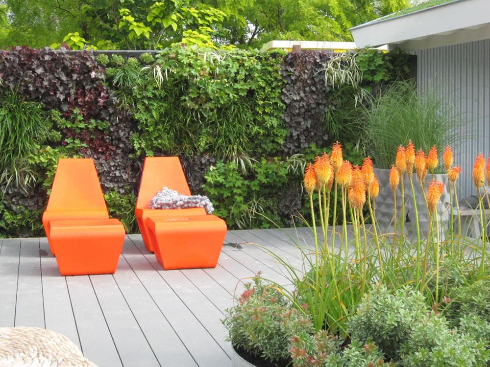 jardin éclectique, exemple 5