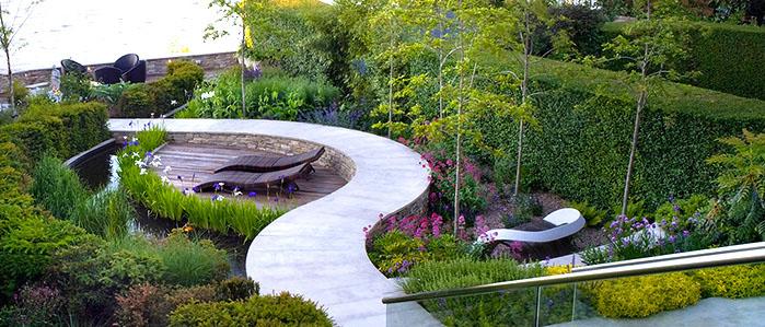 jardin éclectique, exemple 6