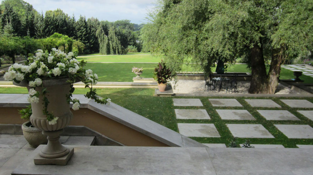Jardin paysager exemple for Architecte paysager