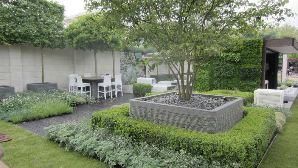 jardin de ville, exemple 4