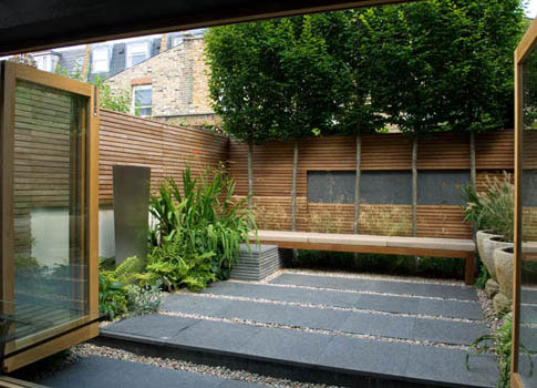 jardin de ville, exemple 5