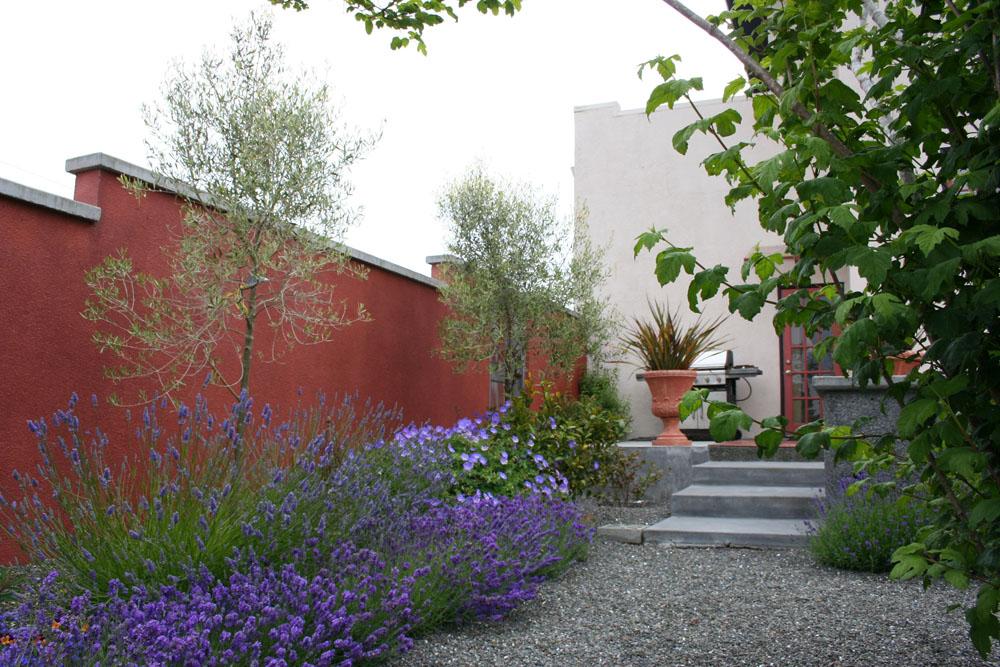 jardin méditerranéen, exemple 2