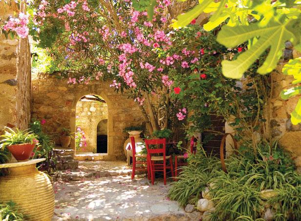 jardin méditerranéen, exemple 3