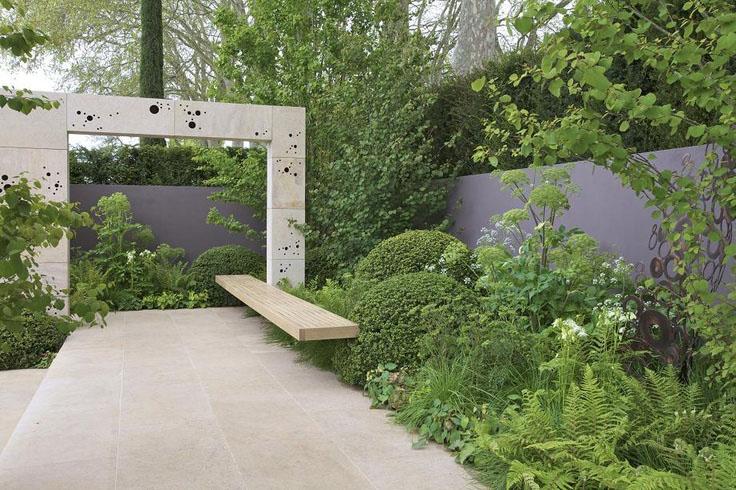 jardin moderniste, exemple 5