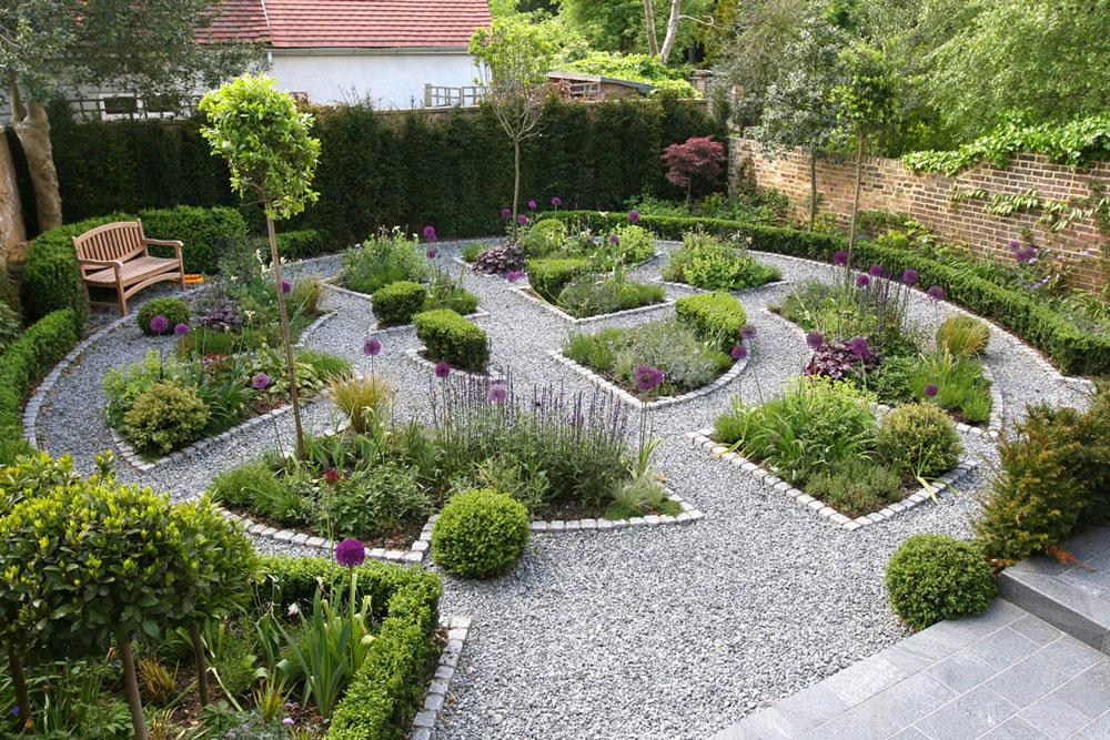 jardin potager, exemple 3